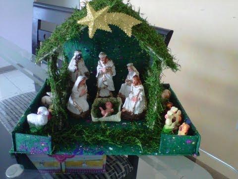 Nacimientos de Navidad. - Ojala les guste esta idea que va con mucho cariño por estas fiestas...pueden visitar mi pagina en facebook http://www.facebook.com/pages/Novedades/4062765627...