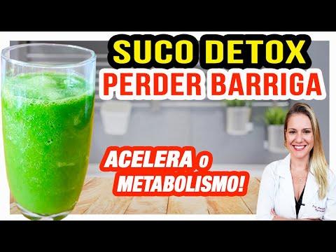 Nutricionista - Receita de Suco Detox para Perder Barriga [DESINCHAR E METABOLISMO]