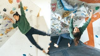 Sofya VS The Tunnel - Campus Challenge - 8a Try - Climbing Training by Eric Karlsson Bouldering
