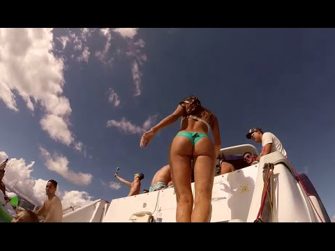 2014 Hawaii Summer Boat Party ( Lorde - Tennis Court Disclosure - You & Me (Flume Remix)