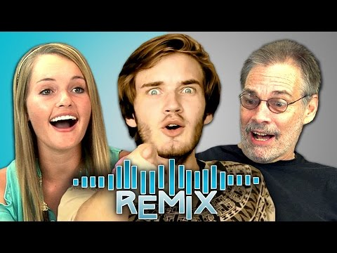 REACT REMIX – PewDiePie (Teens & Elders)