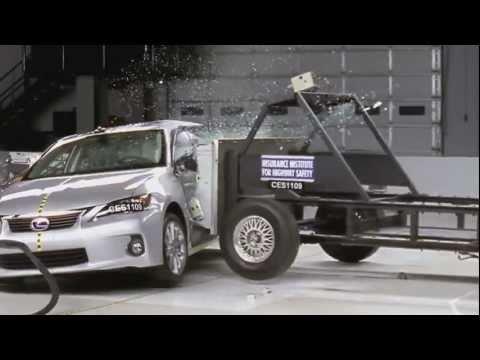 Lexus CT 2012 Lexus CT 200h - CRASH TEST