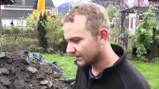 #591 Wie pflanze ich einen Grossbaum Teil 2v11 - Ausheben der Pflanzgrube