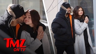 The Weeknd and Selena Take Their Love To Canada | TMZ TV