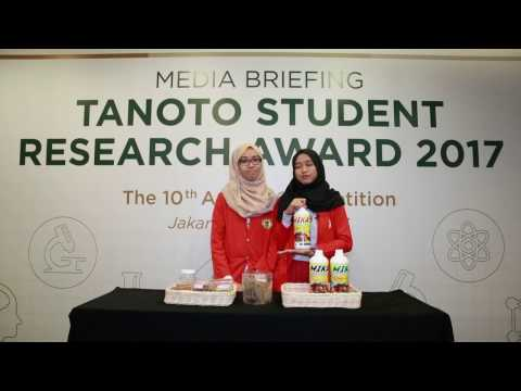 TIM UNHAS – Tanoto Student Research Award 2017