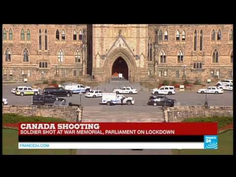 shooting - BREAKING NEWS - Shooting in Canada, soldier shot at war memorial - Ottawa Subscribe to France 24 now http://www.youtube.com/subscription_center?add_user=france24english Visit our website:...
