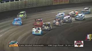 Knoxville Raceway Late Model Nationals 9-16-17