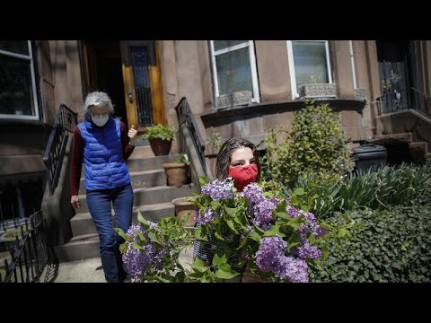H αγορά των λουλουδιών εν μέσω πανδημίας
