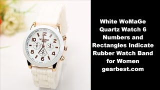 I bought thisWoMaGe Quartz Watch 6 Numbers and Rectangles Indicate Rubber Watch Band for Women from gearbest.comhttp://www.gearbest.com/women-s-watches/pp_20634.htmlRound dial design makes the watch unique.There are three circles on the dial to decorate the watch.Silicon band for comfortable wearing.Solid stainless steel back cover.