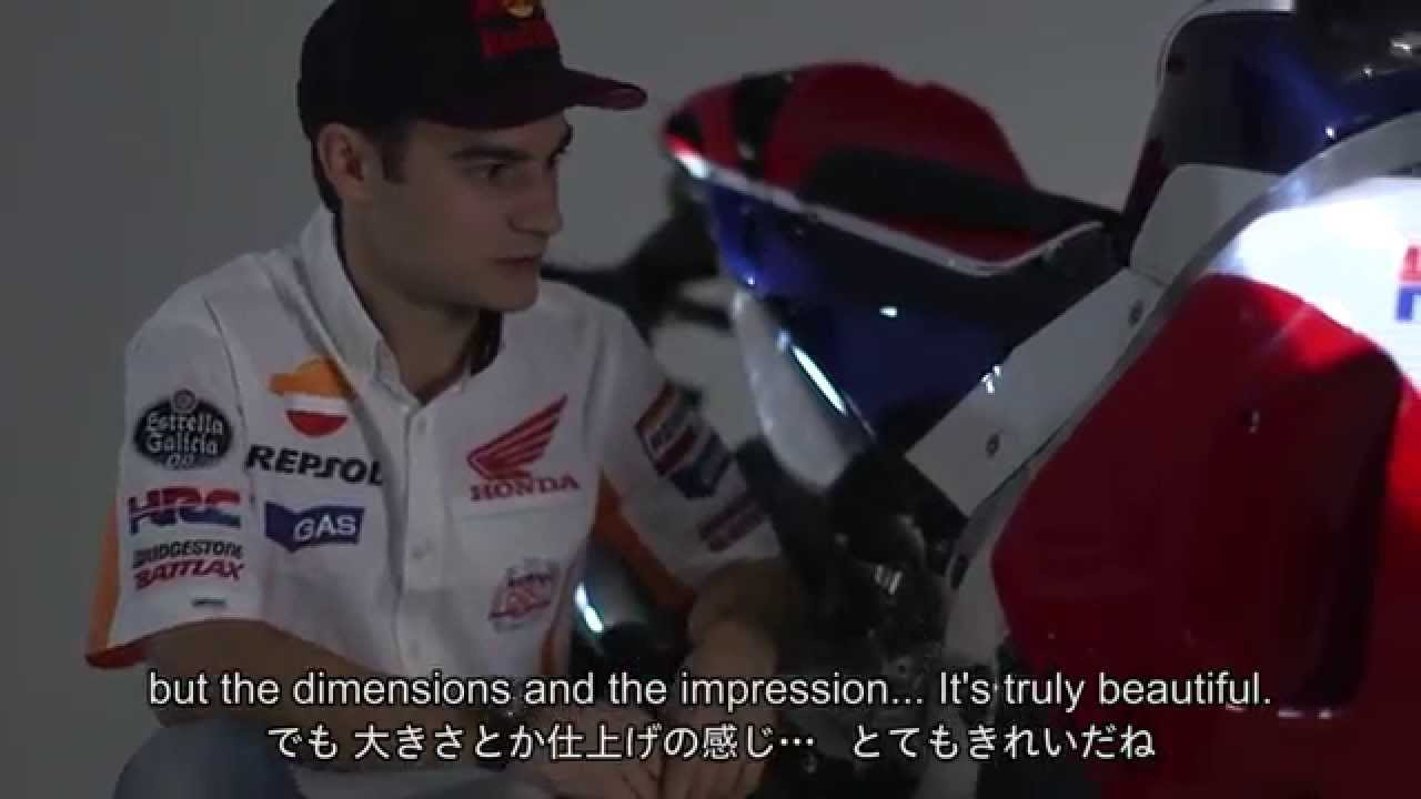 Dani Pedrosa's first impressions of the RC213V-S
