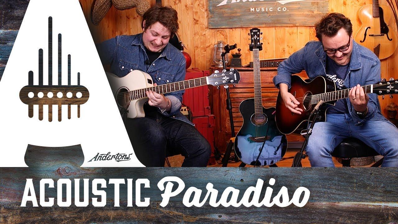 Yamaha APX600 Acoustic Guitars – Double Denim Paradiso!