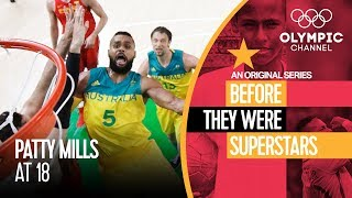 """Patty Mills was dreaming of playing in the NBA when he was 18 and learning his trade at the Australian Institute of Sport in Canberra.Find more Olympians when they were younger in """"Before They Were Superstars"""": http://bit.do/B4Stars-ENGSubscribe to the official Olympic channel here: http://bit.ly/1dn6AV5"""