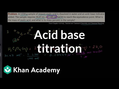 chemistry acid base titration essay example Acid/base on studybaycom - chemistry, lab report - professorn, id - 140909 studybay uses cookies to ensure that we give you the best experience on our website by continuing to use studybay you accept our use of cookies view more on our cookie policy.
