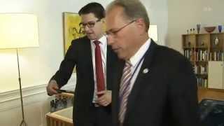 Talmannen vägrar att skaka hand med Jimmie Åkesson