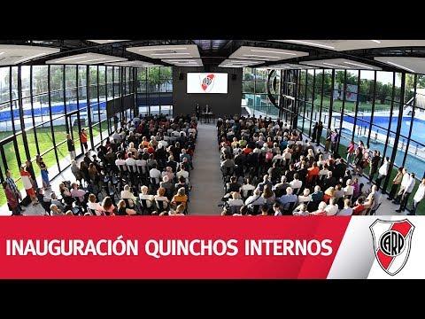 Inauguración de los quinchos internos
