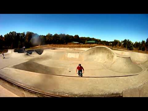 BMX and RC car at Skatepark of Athens (SPOA) on a gopro