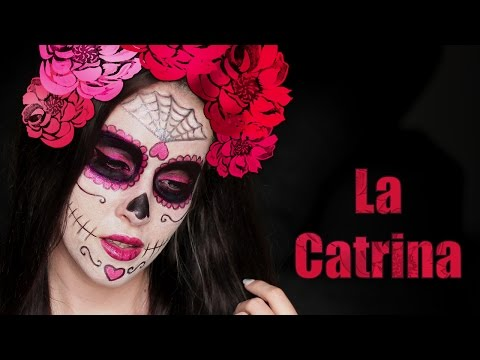 Halloween makeup tutorial ❤ La Catrina | Sugar Skull | Day of the Dead