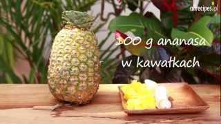Przepis na tropikalny koktajl owocowy