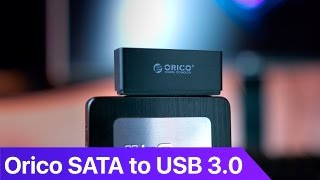 The Orico SATA 3 to USB 3 Adapter is a tiny controller that enables you to use SSDs as external drives without breaking the bank.The only reason I preferred over others that it delivers the full read-write speeds as it advertises and does not require additional power input. You can buy it on Ebay: http://www.ebay.com/itm/162217774362?_trksid=p2057872.m2749.l2649&ssPageName=STRK%3AMEBIDX%3AITMusic: No Rush - Analog https://soundcloud.com/analogmiami/norush Don't forget to follow me on:Twitter: https://twitter.com/dezinezyncInstagram: https://instagr.am/dezinezyncFacebook: https://facebook.com/objrevs