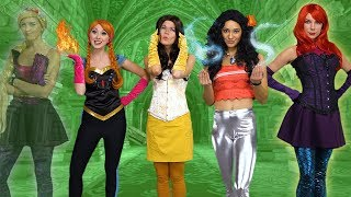 Video DISNEY PRINCESSES GET SUPERPOWERS. (Elsa Gets Saved by Anna, Ariel, Rapunzel, Moana and Belle). MP3, 3GP, MP4, WEBM, AVI, FLV Desember 2018