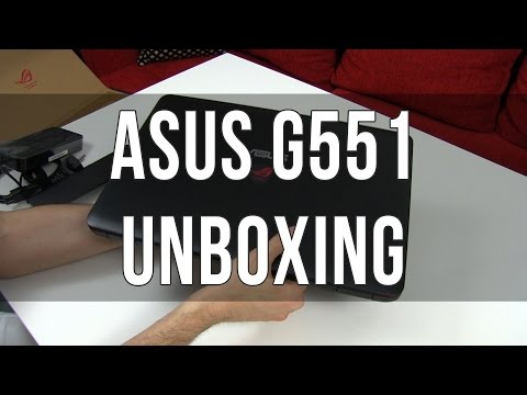Asus G551JM gaming laptop unboxing and first impressions