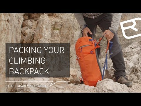 Tips & tricks: The right way to pack your climbing backpack – Tutorial (8/29) | LAB ROCK