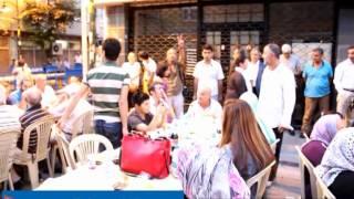 CHP Zeytinburnuİlçe Başkanlığı Gökalp Mahallesinde İftar Verdi