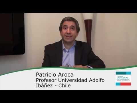 Patricio Aroca – Cápsulas Cohesión Territorial para el Desarrollo