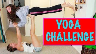 YOGA CHALLENGE! - YouTube