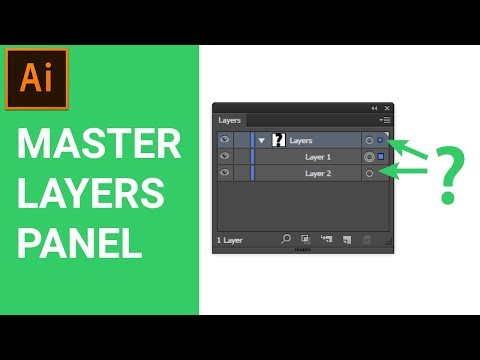 Master The Layers Panel In Adobe Illustrator CC Tutorial For Beginners