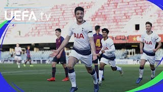 Download Video Youth League highlights: Barcelona 0-2 Tottenham MP3 3GP MP4