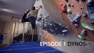 Climbing Technique For Intermediate - Episode 1 - Dynos by Eric Karlsson Bouldering