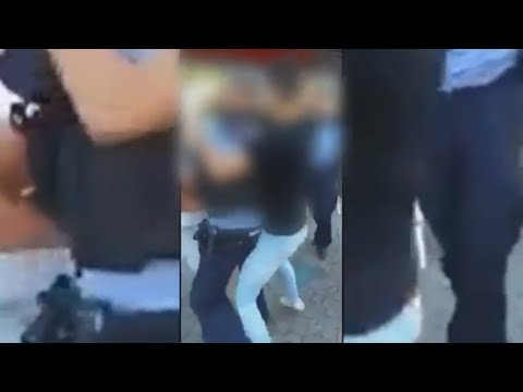 Plauen: Handyvideo zeigt brutalen Angriff auf Polizis ...