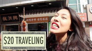We visit Nanjing, China to film the 20th episode of the Traveling for 20 Dollars a Day series. We ate tons of street food, hung out with locals, and thanks to Raven, my local friend and guide, we learned some local  Nanjing dialect and uncovered hidden gems throughout the city. Also, Curtis is back!-----( $20 USD = 138 RMB )-----We met at Zhongshan Wharf (中山码头) and took the ferry to Pukou District(the oldest district in Nanjing). After enjoying some outdoor shenanigans, we had breakfast at the legendary Daxi Wonton (大喜馄饨摊).Later, we enjoyed a feast at Nanjing Dapaidang (南京大排档) on Hunan Road. In the afternoon, we walked around Xuanwu Lake (玄武湖) and caught a glimpse of the Ming Great Wall(明城墙).Next, we ventured over to Yihe Road(颐和路), then visited Librairie Avant-Garde(先锋书店五台山店), one of the most beautiful bookstores in the world.In the evening, we had an ocean-sized bowl of pig skin noodles at a family noodle shop, then headed over to Laoyang Cigarette Booth(老杨烟摊) for some fun times. We sipped beers, laughed lots, and lived like young rebels without a cause.Finally, we made our way to the hostel, where we had a bunk bed waiting for us.What an amazing day it was, and we did it all for less than $20USD!-------------------------------------------------------------------------------Music:D-Evil ... 喝馄饨D-Evil ... 挤公交The Passion HiFi ... Back to the 90sThe Passion HiFi ... Gotta Get Up-------------------------------------------------------------------------------Follow me on all my adventures:Blog - http://monkeyabroad.comFacebook - http://facebook.com/monkeyabroadInstagram - http://instagram.com/monkeyabroad微信号:monkeyabroad123微博:kevin大厨子Support - http://patreon.com/monkeyabroad