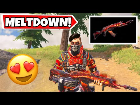 THE RETURN OF THE LEGENDARY AK117 MELTDOWN! CALL OF DUTY MOBILE BATTLE ROYALE