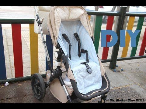 DIY Como hacer funda universal de silla de paseo para bebe