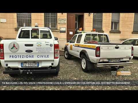 TG BASSANO | 29/03/2020 | PROTEZIONE CIVILE, L'IMPEGNO DEI VOLONTARI DEL DISTRETTO BASSANESE