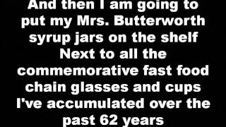 nirvana - mrs. butterworth (lyrics)