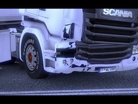 Broken Scania