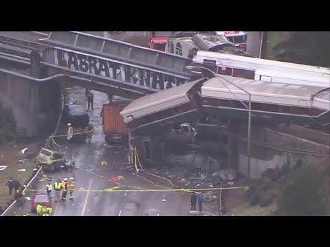 Deadly Amtrak train derails in Washington state