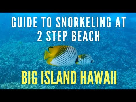Guide To Snorkeling at 2 Step Beach - Big Island Hawaii Guides