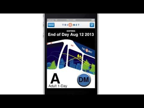 Video of TriMet Tickets