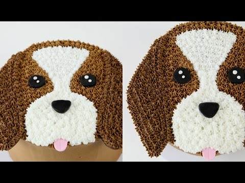 Amazing Cake Decorating DOG Cake!