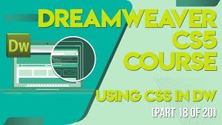 Dreamweaver CS5 Tutorials In Urdu/Hindi Part 18 Using Css In Dw