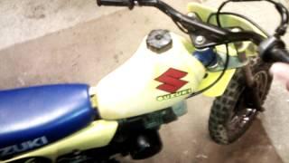 10. 1986 Suzuki Jr50 Dirt Bike