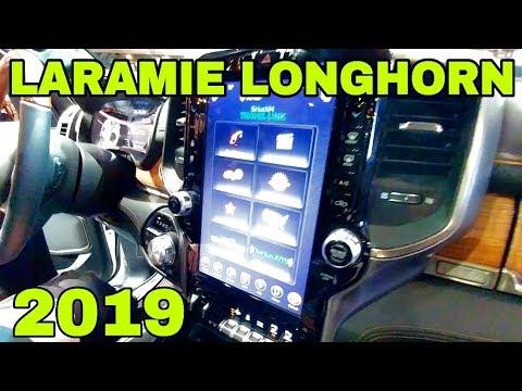 2019 RAM Laramie Longhorn-Official Reveal and walk-through