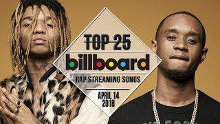 Top 25 • Billboard Rap Songs • April 14, 2018 | Streaming-Charts