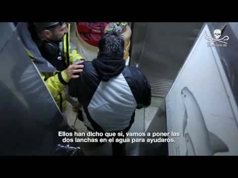 Sea Shepherd Rescues Fisherman in the Gulf of California (with subtitles)