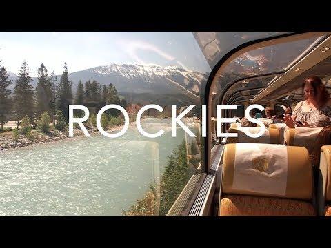 Rocky Mountaineer Train Trip | Canada Travel Diary (видео)