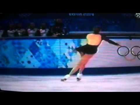 Carolina Kostner skates ladies free skate at Olympic games – Sochi 2014